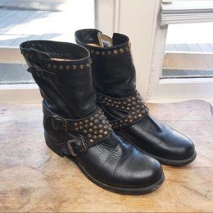 Frye | Jenna studded short boot black